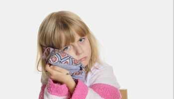 Спиртовой компресс ребенку на ухо